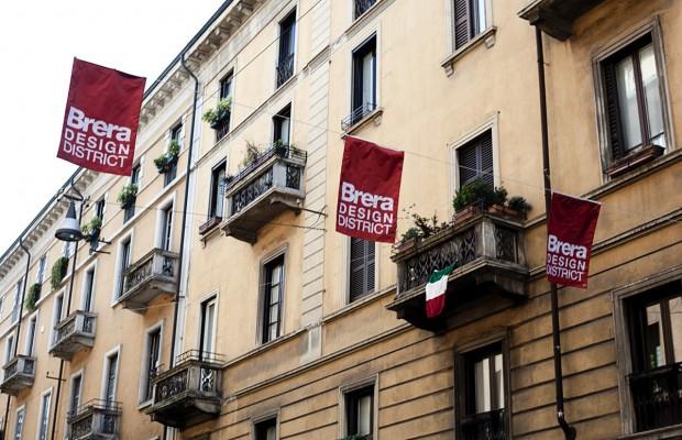Citt nascosta milano brera design district for Milano design district