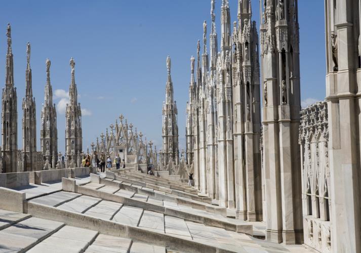 Città Nascosta Milano » Terrazze del Duomo