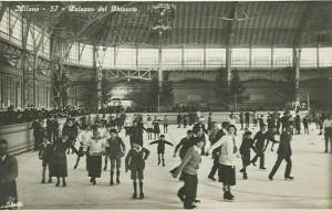 palazzo del ghiaccio storica