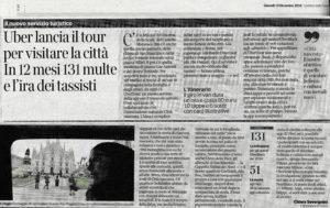 Corriere - Uber